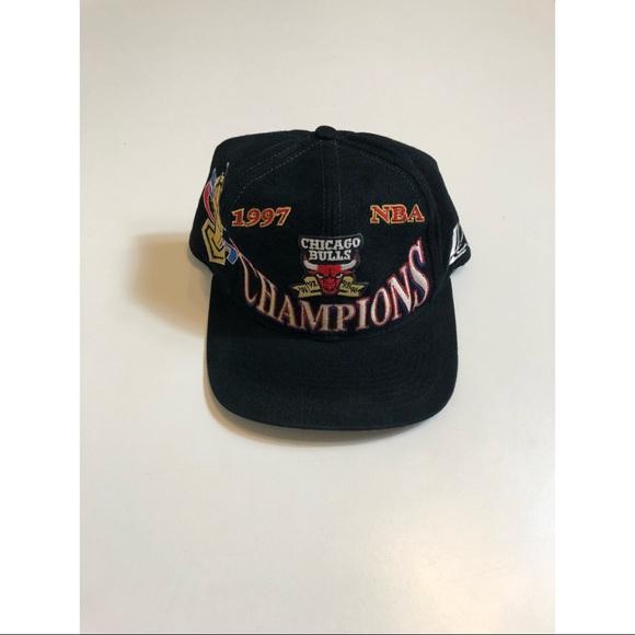 95905fc89d4 Logo 7 Other - Vintage Logo 7 Chicago Bulls 97 champion hat OSFA